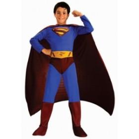 ハロウィン子供用コスチューム スーパーマンSUPERMAN イベント・コスプレ・ハロウィン・衣装・学園祭・文化祭・結婚式二次会