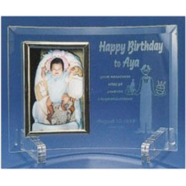 フォトフレーム(ガラス写真横長&縦長)出産祝い・オリジナルギフト・プレゼント・ラッピング無料