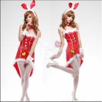 【即納】 燕尾のバニーガール コスプレ コスチューム ハロウィン クリスマス(4222)