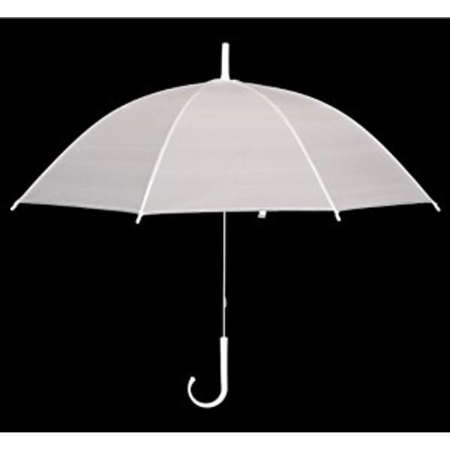 ビニール傘(半透明) 50cm