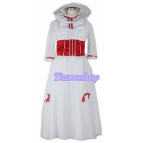 Mary Poppins   メリー・ポピンズ  風   コスプレ衣装 ★ 完全オーダメイドも対応可能  K3879