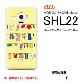 au AQUOS PHONE SERIE SHL22用 ハードケース / ハードカバー 国旗 / 日本