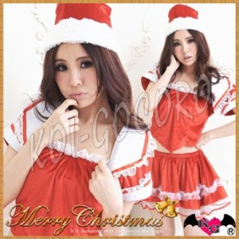 コスプレ サンタ レディース サンタクロース 猫耳 トナカイ ドレス コスチューム クリスマス