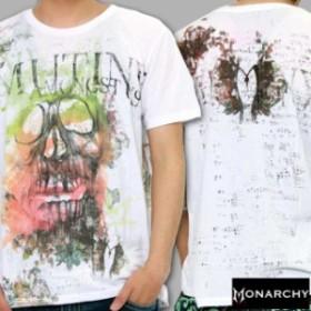 【新品】 MONARCHY S/S TEE M900-D24-20 MUTINY CREW モナーキー Tシャツ ミューティーニー クルー ホワイト 【セレブ/半袖/LA】