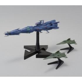宇宙戦艦ヤマト2199 1/1000 独立戦闘指揮艦 デウスーラII世・コアシップ 《プラモデル》