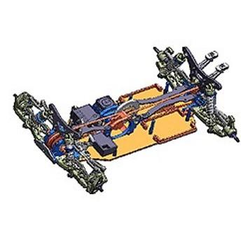 タミヤ 1/10電動RC 4WD レーシングバギー TRF511用アップグレードセット【84315】ラジコン用 【返品種別B】