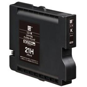 エコリカ ECI-RC21HB リコー用リサイクルインク(ブラック)GC21KH対応[ECIRC21HB]【返品種別A】