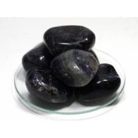 【天然石 置き石】タンブル型 (大) フローライト 200gパック ※ネコポス不可※ パワーストーン