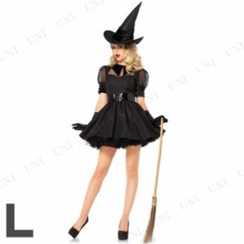 コスプレ 仮装 魅惑的な魔女 大人用 L コスプレ 衣装 ハロウィン 仮装 余興 魔女 コスチューム 女性用 レディース パーティーグッズ 魔法