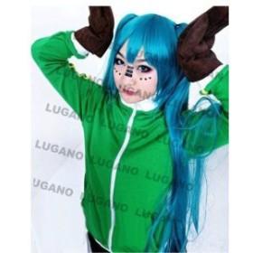 DK936コスプレ衣装 VOCALOID ボーカロイド マトリョシカ 初音ミク 風 衣装+手袋セット