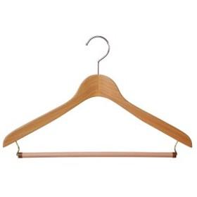 木製ハンガーW ハンガーW メンズS・Mwowma スーツ・ジャケット用WハンガーW包装不可 日本製 木製ハンガー ウッドベーシス02ストップ