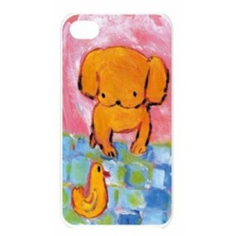 iPhoneSE iPhone5s iPhone5 アイフォーン ケース 子犬とあひる