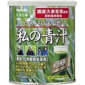 ヤクルトヘルスフーズ 元気な畑 私の青汁(200g) 安心品質 キリン 粉末青汁 粉末タイプ 国産大麦若葉 健康ドリンク