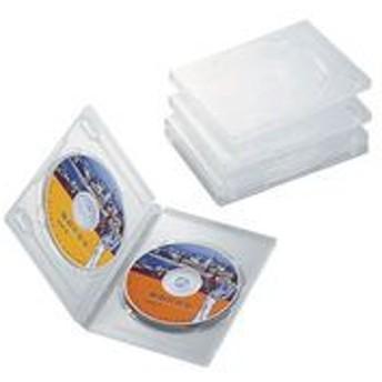 ELECOM (エレコム) [CCD-DVD05CR] DVDトールケース CCDDVD05CR