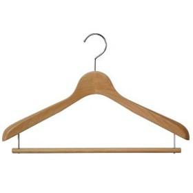 木製ハンガーW ハンガーW メンズS・Mwowma スーツ・ジャケット用WハンガーW包装不可 日本製 木製ハンガー ウッドベーシス01スライド