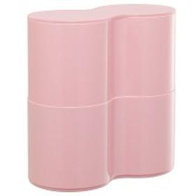 伊勢藤 トイレットペーパーBOX 2段 ピンク 1個