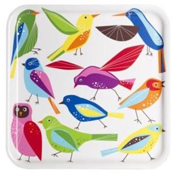 【IKEAイケア】BARBARトレイ 鳥