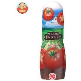 【送料無料】 日本食研 空と大地のドレッシング まるごとトマト 300ml×12本入