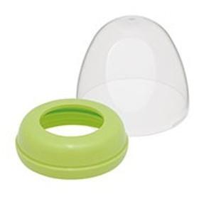 母乳実感 キャップ・フードセット ライトグリーン 1コ入 【k】【ご注文後発送までに1週間前後頂戴する場合がございます】