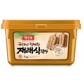 ヘチャンドル 味噌 1Kg★韓国食品市場★ 韓国料理/韓国食材/調味料/韓国ソース/韓国味噌/在来式味噌/テンジャン