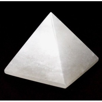 【天然石 置き石】ピラミッド型 約30mm ホワイトオニキス ※ネコポス不可※ パワーストーン