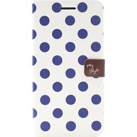 ハッピーモリ iPhone6 スタイルドットダイアリー ネイビー HM4171i6(1コ入)[ケース・ジャケット]