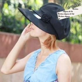★[送料無料][海外][春夏秋]帽子キャスケットUV対策帽子紫外線対策帽子つば広ぼうし小顔[納期:約2-3週間]