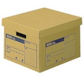 コクヨ 文書保存箱(A判ファイル用) フタ分離式 A4用 内寸W380×D317×H260mm 1個
