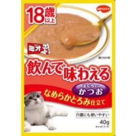 【日本ペット】ミオレトルト 18歳以上 なめらかとろみ かつお 40g