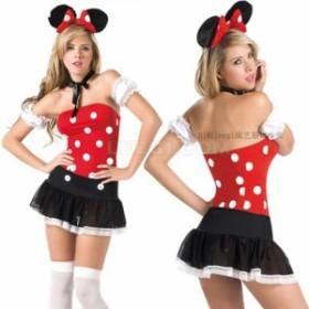 クリスマス パーティー♪ ミッキーマウス風  仮装 ★ コスプレ衣装   K2067