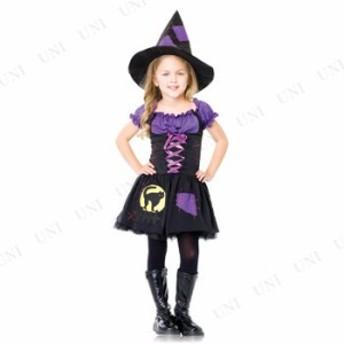 !! ブラックキャットウィッチ 子供用(XS) 仮装 衣装 コスプレ ハロウィン 子供 キッズ コスチューム 子ども用 魔女 こども パーティーグ