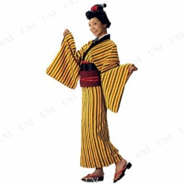 コスプレ 仮装 下町の看板娘 お糸ちゃん 衣装 コスプレ ハロウィン 仮装 余興 大人 コスチューム 女性 和風 和装 パーティーグッズ 着物