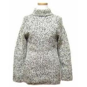 NICOLE FARHI クラシックローゲージニットセーター (Classic mix rough-gauge-knit sweater) ニコルファリ 044412【中古】