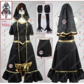Vocaloid  初音  ミク風★ コスプレ衣装 完全オーダメイドも対応可能  K2573