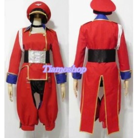 マクロスF 超時空要塞マクロス  シェリル・ノーム  軍服★コスプレ衣装 完全オーダメイドも対応可能  K3149
