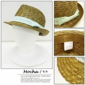 【30%OFF】花柄 中折れHAT 紫外線対策【HAT ハット】 (帽子)メンズ レディース
