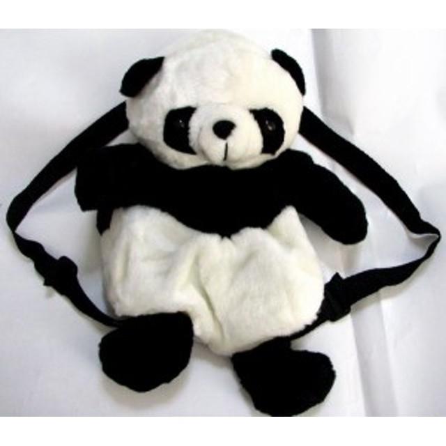 【横浜中華街】パンダ ぬいぐるみリュック