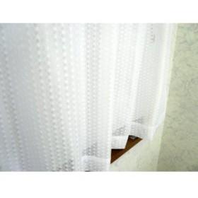 防炎加工水玉ミラ-レ-スカ-テン巾150cmX丈176cm 1枚