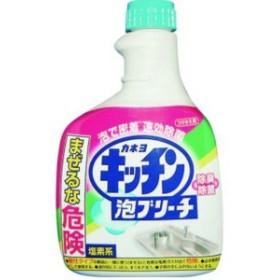 カネヨ石鹸 キッチン泡ブリーチ つけかえ用 400ml (1521-0105)