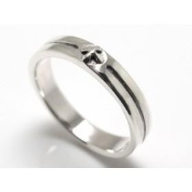 【指輪】シルバー925◆ユニセックス用◆クロスレリーフ・シルバーリング【ri lwb sv si】