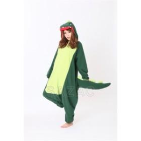 カイジュウ アニマル(動物)着ぐるみ どうぶつ キャラクター パジャマ 大人用 女性 仮装