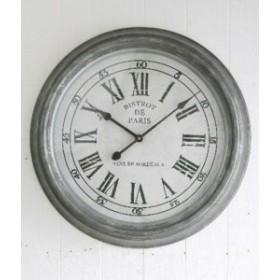 時計 ブリキ・ウォールクロック