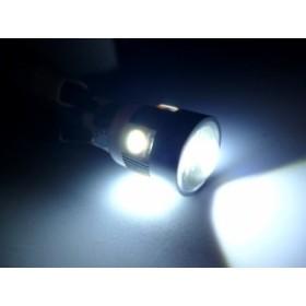 【LEDウェッジ球NEO 12V/24V共用】W2.1×9.5dさらに明るい高輝度LED球使用2ヶSET(ホワイト白)スモールライト球などに