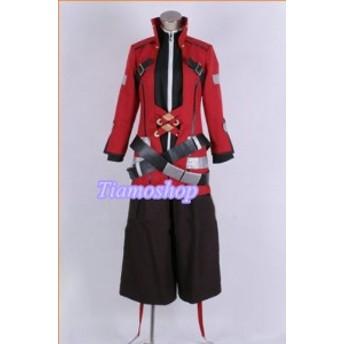 BLAZBLUE(ブレイブルー )      ラグナ 風   靴カバー付き★コスプレ衣装 完全オーダメイドも対応可能  K3672