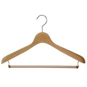 木製ハンガーW ハンガーW メンズS・Mwowma スーツ・ジャケット用WハンガーW包装不可 日本製 木製ハンガー ウッドベーシス01ストップ