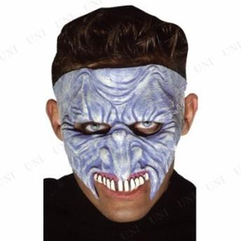クレイブクリーパー ハーフマスク コスプレ 衣装 ハロウィン パーティーグッズ かぶりもの ホラー 怖い マスク ハロウィン 衣装 プチ仮装
