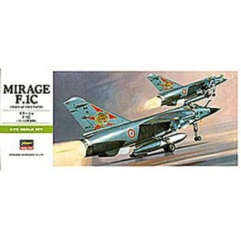 ハセガワ 1/72 ミラージュ F.1C【B4】プラモデル 【返品種別B】