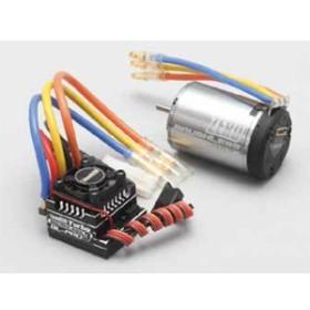 ヨコモ BL-PRO3+Turbo ブラシレスコンボ YM-BL255G 25.5Tモーター【BL-P3255G】ラジコン用 【返品種別B】