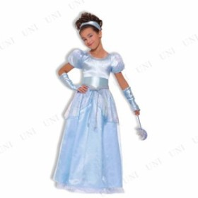 !! シンデレラドレス 子供用 M 仮装 衣装 コスプレ ハロウィン 子供 コスチューム パーティー ドレス 童話 キッズ シンデレラ 子ども用