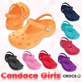 【送料無料対象外】CROCS Candace Girls クロックス キャンディス ガールズ サンダル【ベビー&キッズ 子供用】[AA]【60】